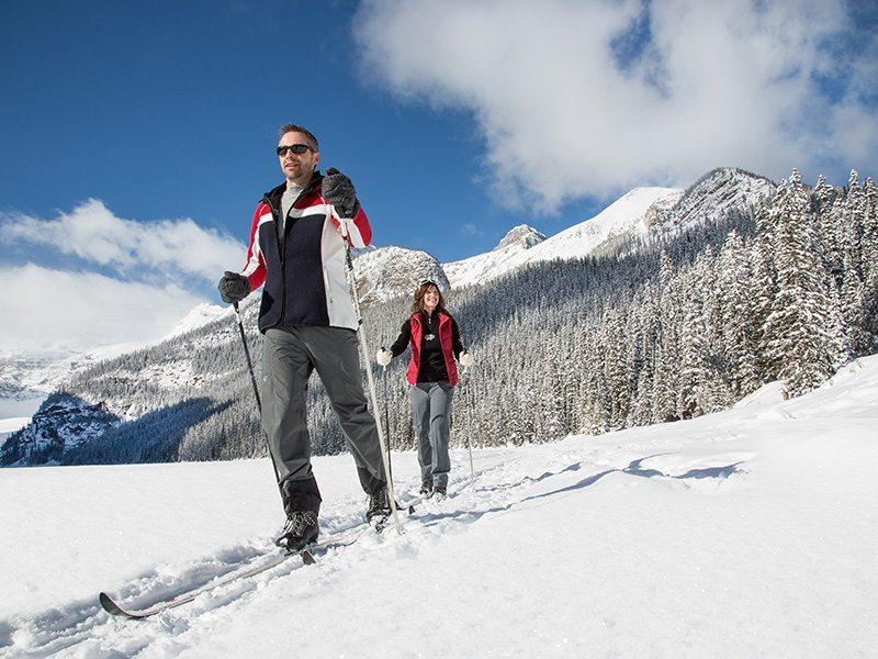 Cross Country Skiing Lake Louise