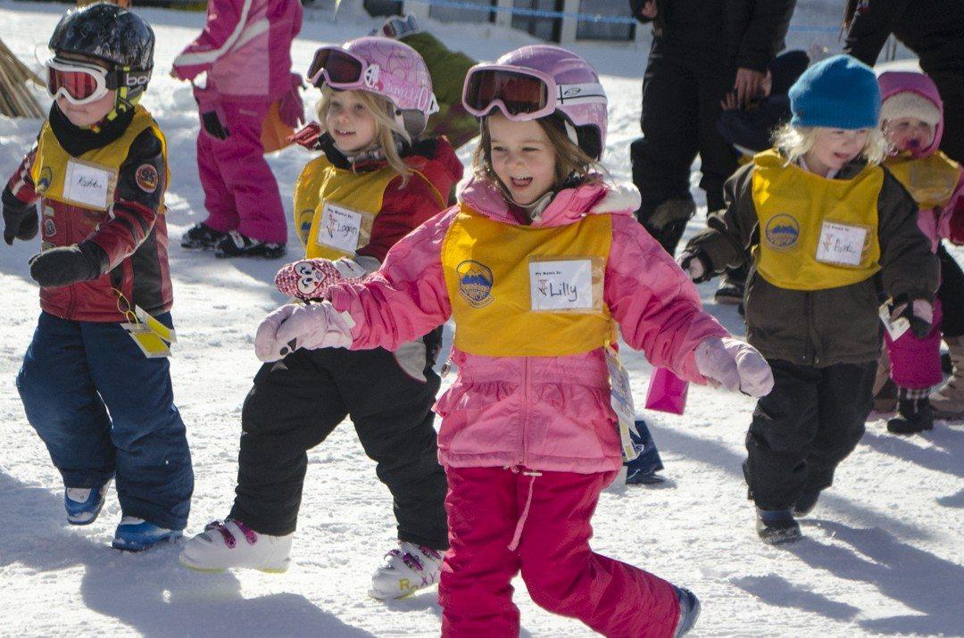 Ski School at Sunshine Village