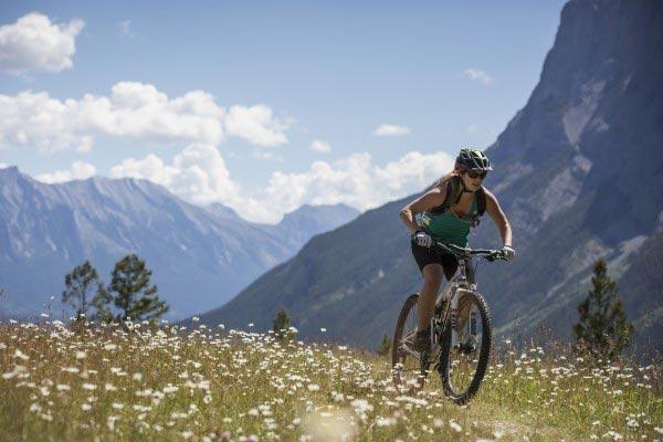 Tunnel Mountain Bike Trail