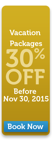 Vacation Packages 30% off