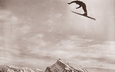 Norquay Ski Jumper