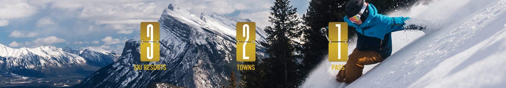 3 Resorts 2 Towns 1 Pass