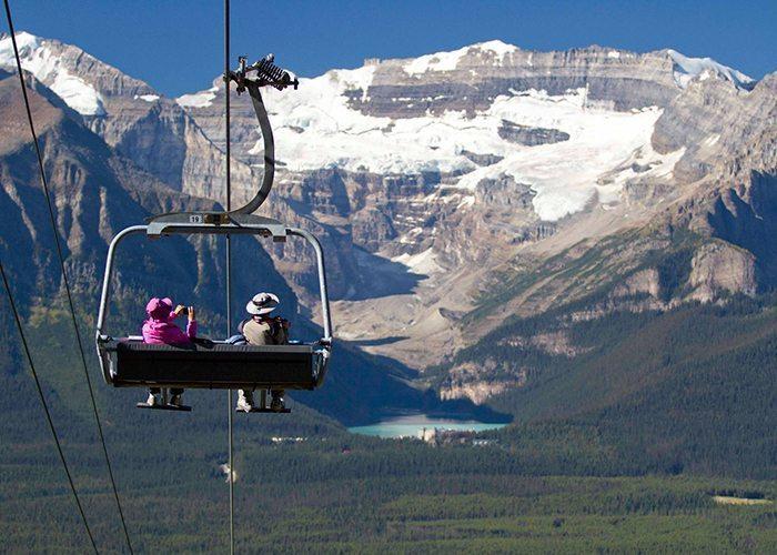 Lake Louise Ski Resort | Sightseeing | Gondola, Banff National Park.