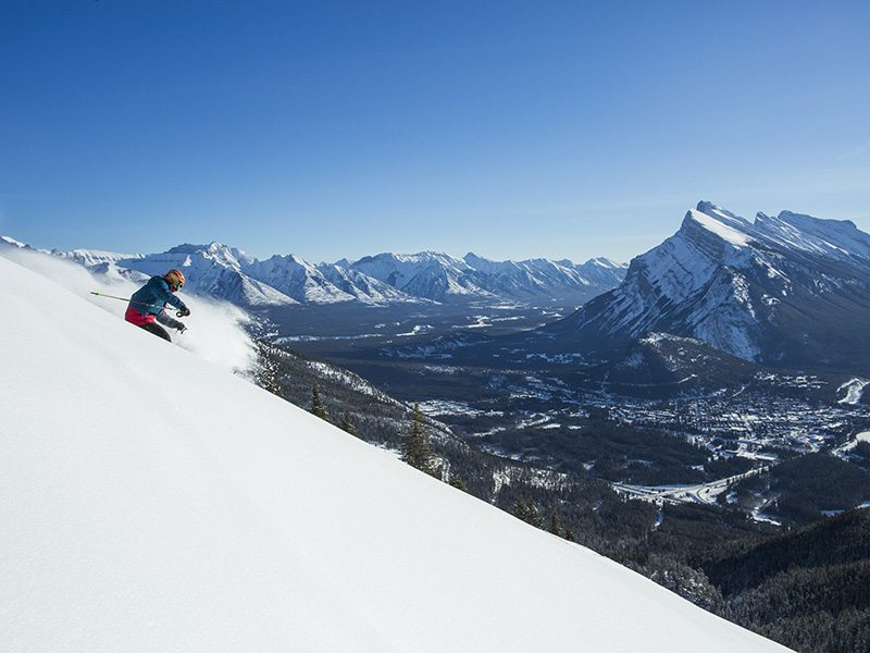 Ski Banff-Lake Louise-Sunshine