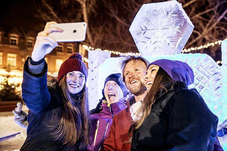 The SnowDays Festival Kick-Off Party in Banff is not to be missed! Photo: Kelly MacDonald