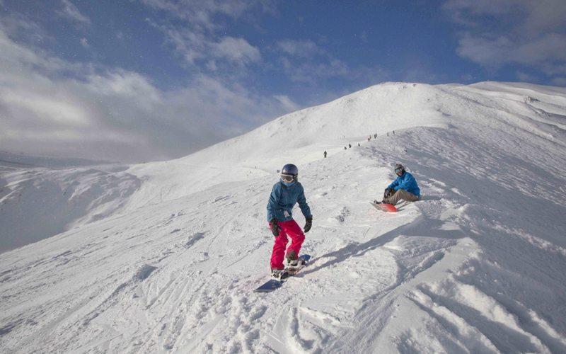 Saddleback at Lake Louise Ski Resort