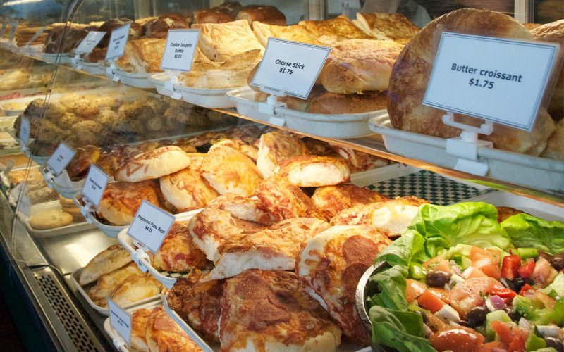 Laggan's Mountain Bakery & Delicatessen is a quick and easy option for something delicious. Photo: Laggan's.