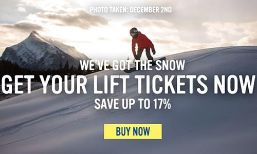 Get Your Lift Tickets