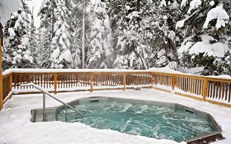 Peaceful and secluded, Emerald Lake Lodge is another great option after a day at Lake Louise Ski Resort. Photo: TweedTelegraph.com