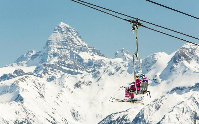 Sunshine Village Ski Resort in Banff National Park, Canada. Photo: Paul Zizka.