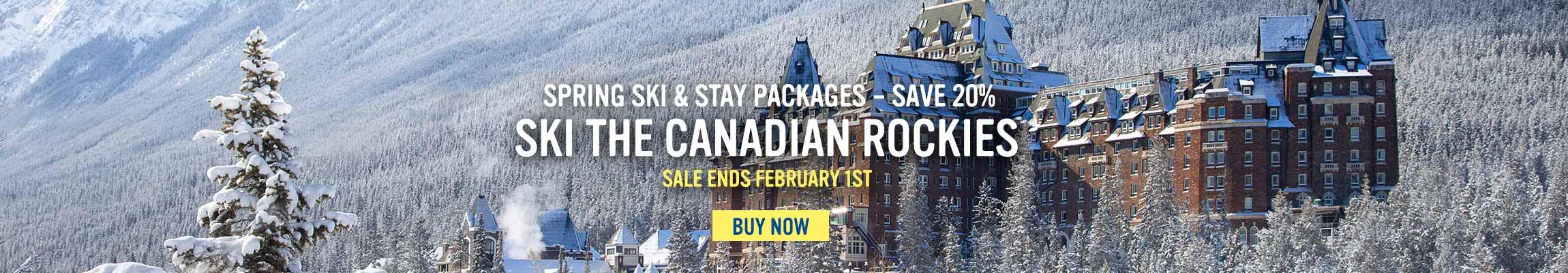 Spring Ski & Stay - Save 20%