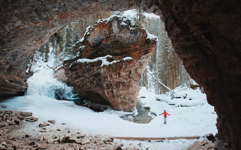 Winter hikes: Johnston Caynon and Falls