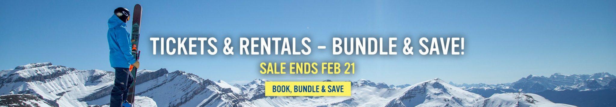 Bundle & Save on tickets & Rentals