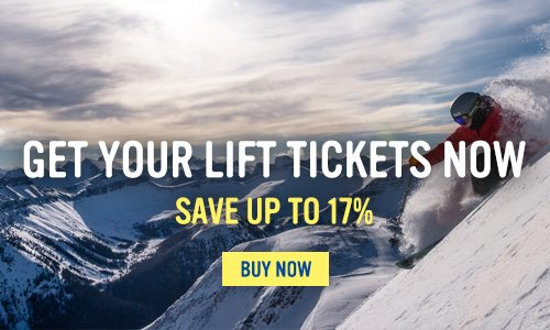 Get your lift tickets - Save 17%