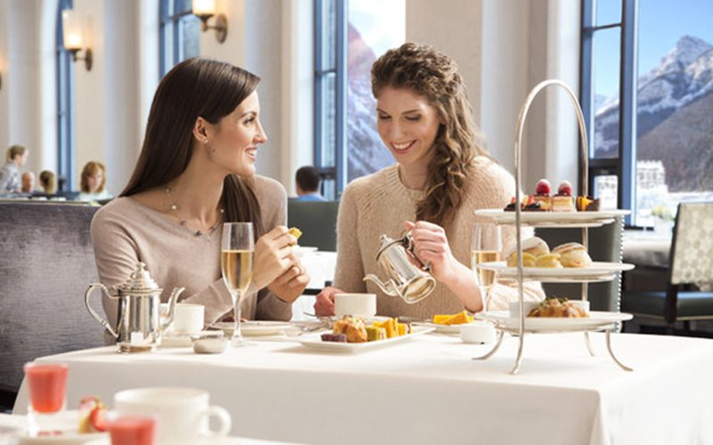 You'll find plenty of delicious brunch options in Banff National Park this Easter. Photo: Fairmont Chateau Lake Louise.