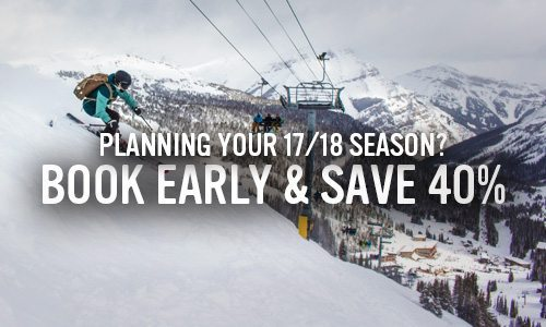 Book Early and Save 40%
