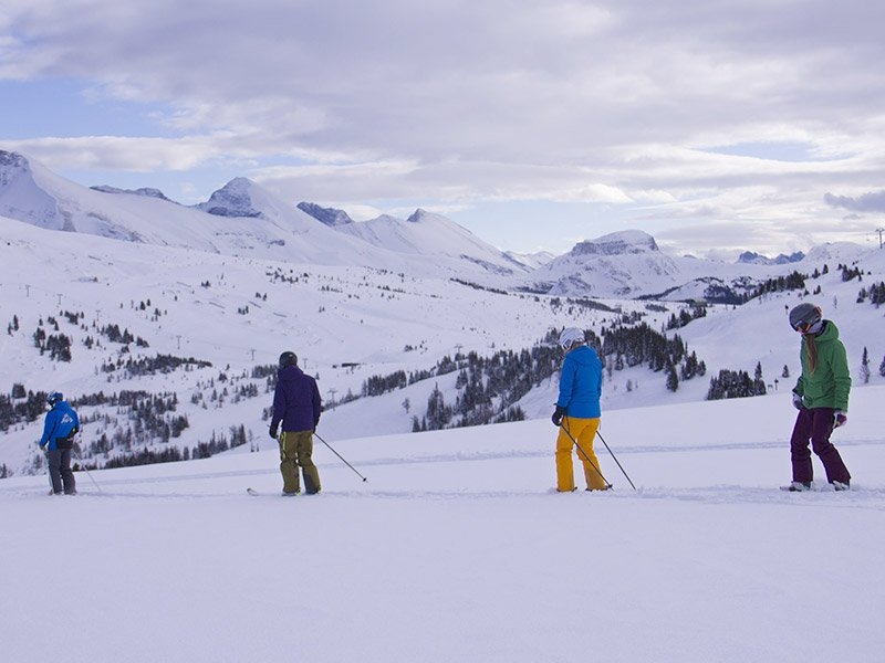 A day at Banff Sunshine Village with the Guided Adventures program.