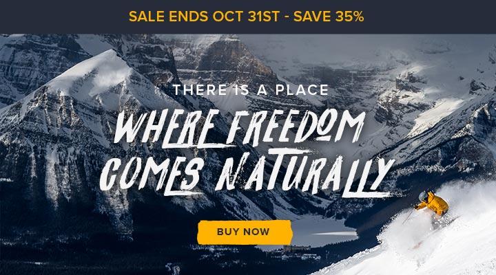 October deadline - Save 35%