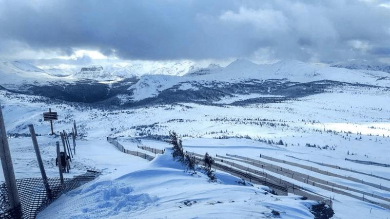 Landscape photo of Banff Sunshine, Banff national Park.