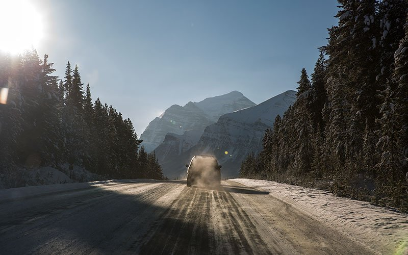 TRAVELLING TO BANFF & LAKE LOUISE
