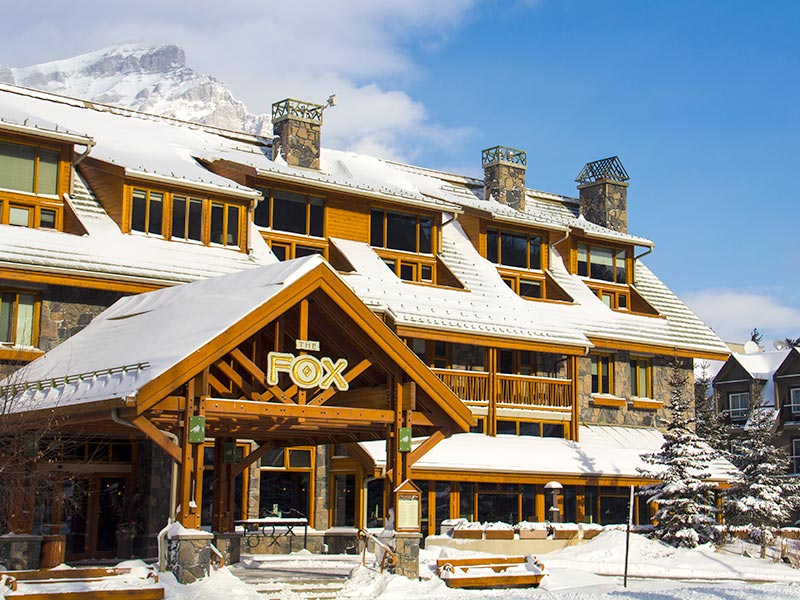 The Fox Hotel in Banff, Banff National Park