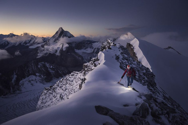 Banff Mountain Film + Book Festival's 2019 Signature Image by Nicky Lynch.