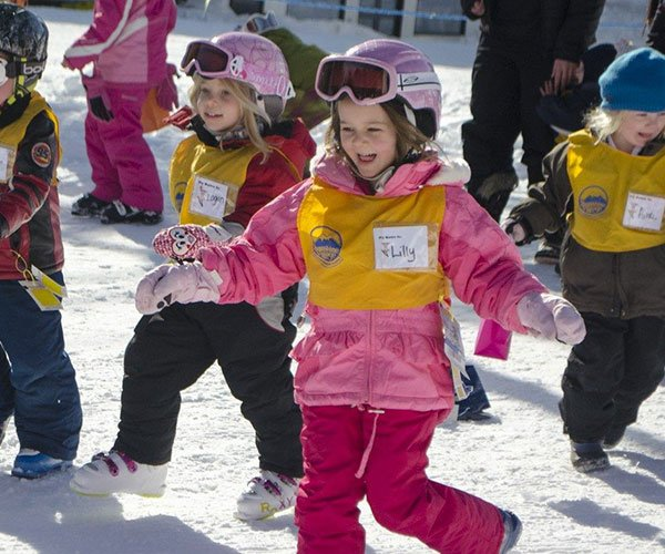 Kids Ski School Programs at Banff Sunshine, Banff National Park.