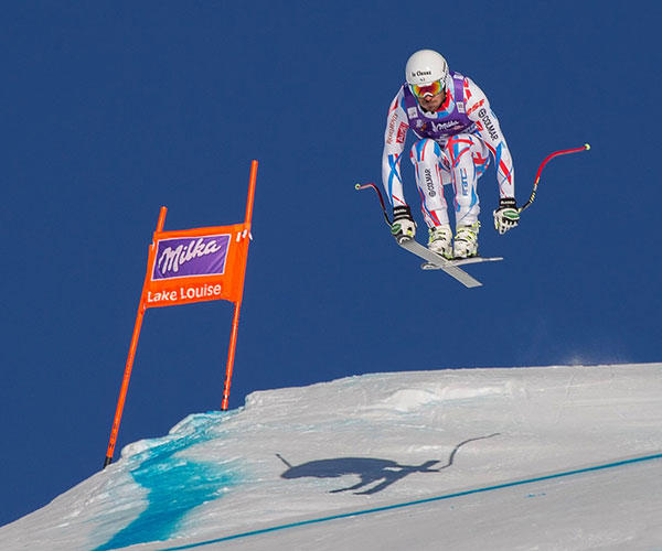 Lake Louise World Cup at Lake Louise Ski Resort, Banff National Park.