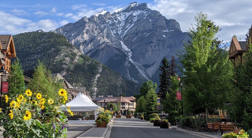 Banff Ave - Summer 2020