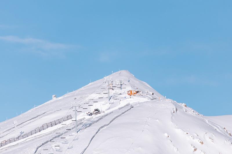 The new Summit Chair on Whitehorn Mountain. Photo courtesy of Lake Louise Ski Resort.