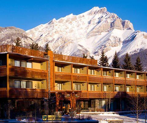 Banff Aspen Lodge in Banff, Banff National Park.