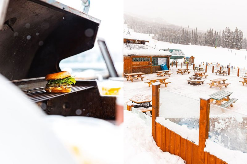 take out options Kokanee Kabin Lake Louise Ski Resort