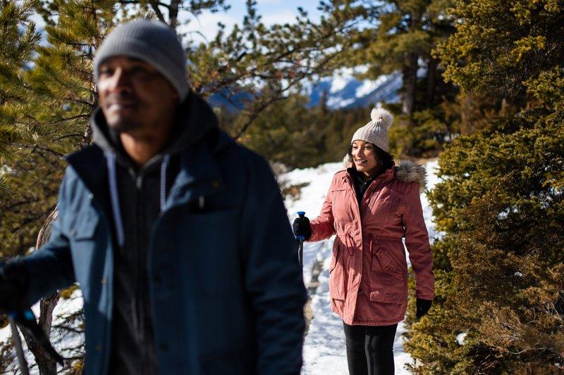 Winter Hiking, Banff Lake Louise Tourism, photo by Devaan Ingraham