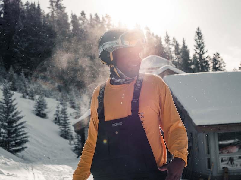 Darken the Slopes program at Mt. Norquay ski resort with Darken the Mountains.