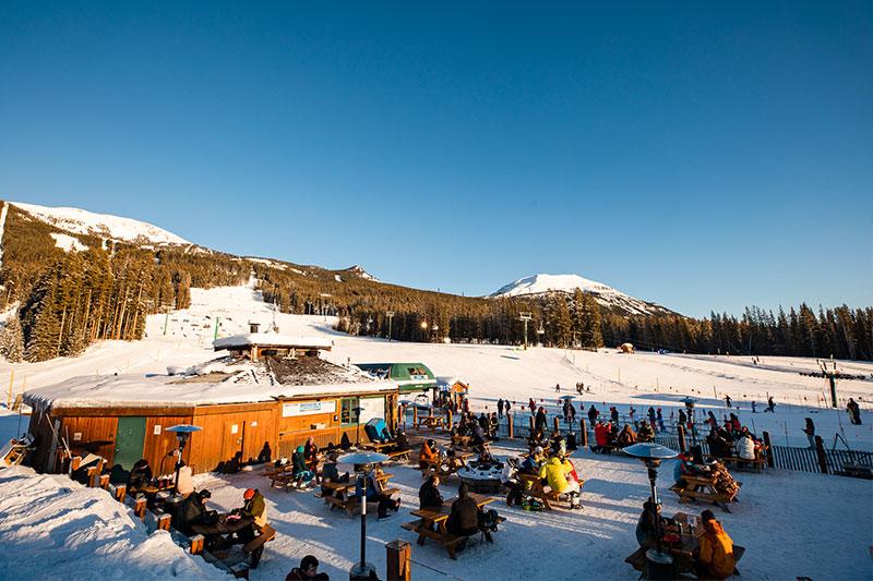 Banded Peak Base Camp, Lake Louise Ski Resort