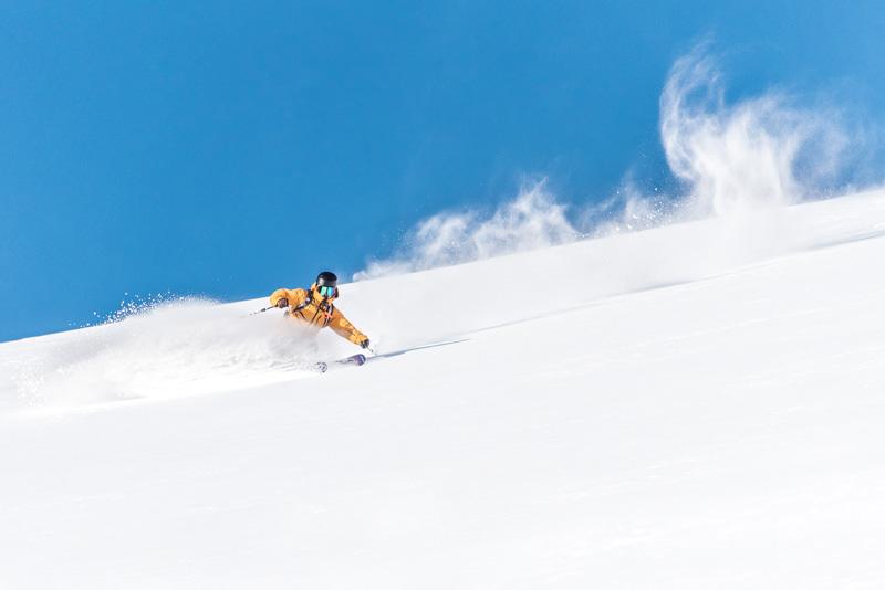Backcountry ski terrain in Banff National Park.