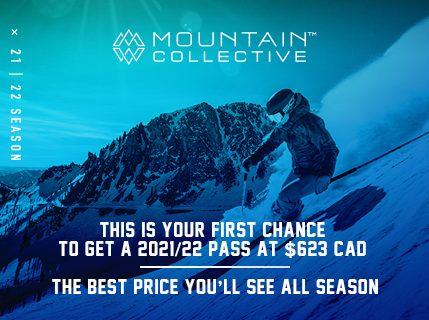 21/22 Mountain Collective now on sale