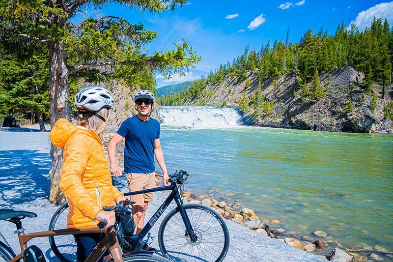 Explore Banff by e-bike