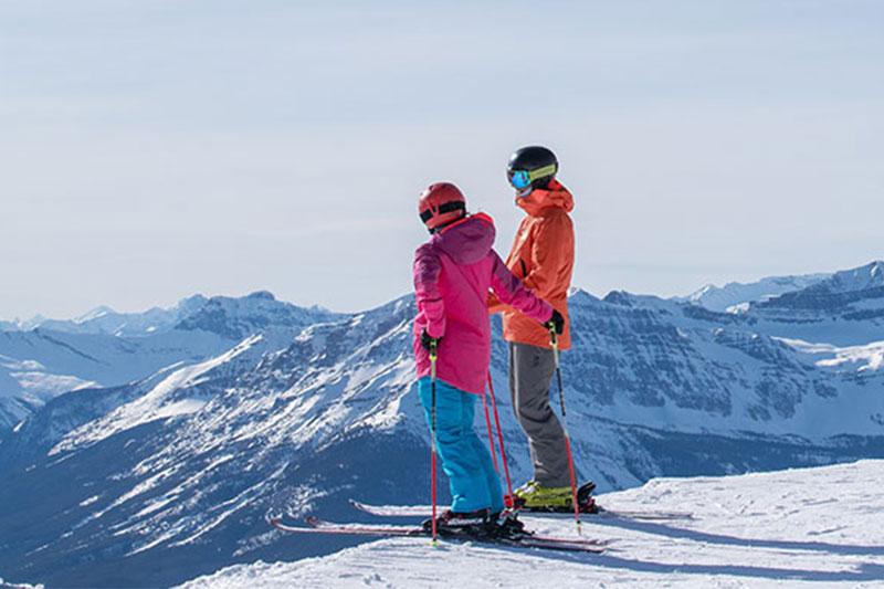 Lake Louise Ski Resort, Photo by Reuben Krabbe