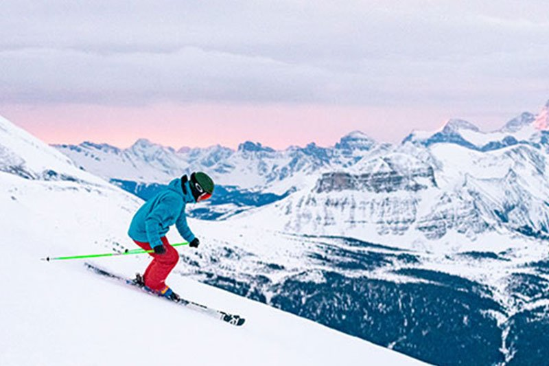 Banff Sunshine, photo by Reuben Krabbe