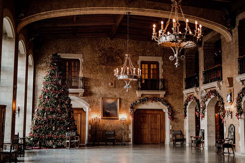 Christmas at the Castle, photo by Fairmont Banff Springs
