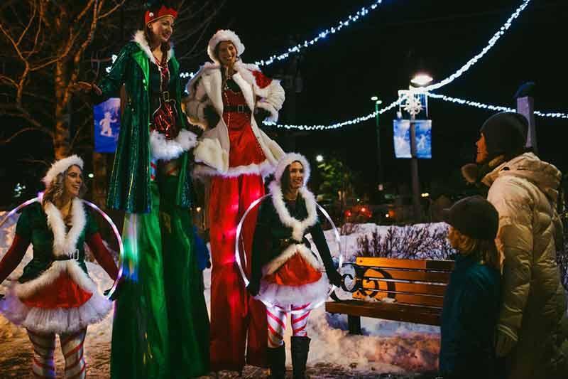 Banff Santa Claus Parade, photo by Kelly MacDonald