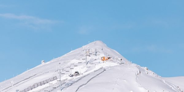 The new Summit Chair on Whitehorn Mountain. Photo courtesy of Lake Louise Ski Resort.