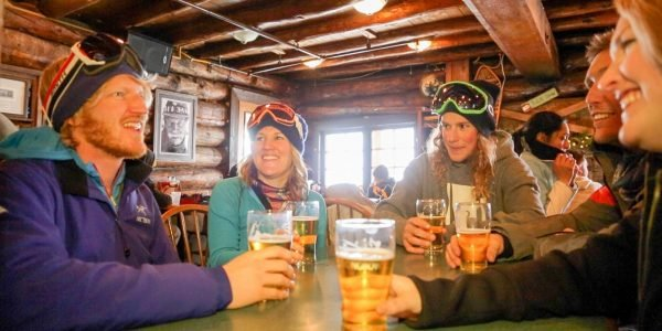 Apres Ski at Banff Lake Louise Sunshine|Lone Pine lunch menu at Mt. Norquay