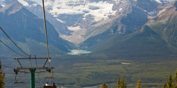 Sightseeing Lake Louise Gondola by Paul Zizka