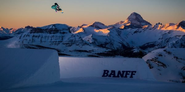 Snowboarder at Sunshine Village, photo by Snowboarder Magazine & TEN - The Enthusiast Network